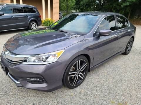 2017 Honda Accord for sale at Car and Truck Exchange, Inc. in Rowley MA