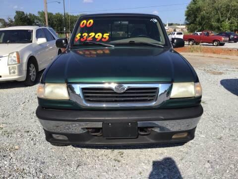 2000 Mazda B-Series Pickup for sale at K & E Auto Sales in Ardmore AL