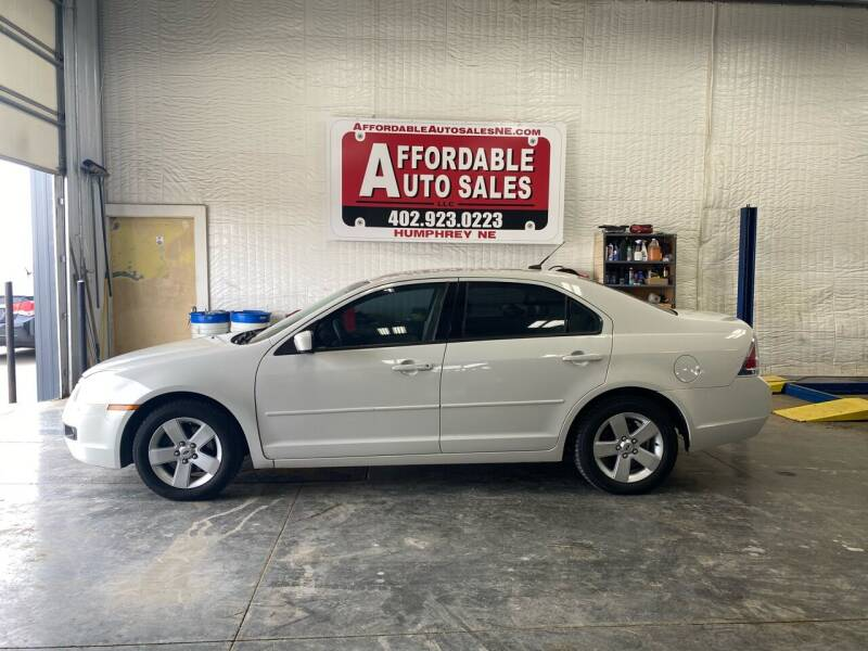 2008 Ford Fusion for sale at Affordable Auto Sales in Humphrey NE