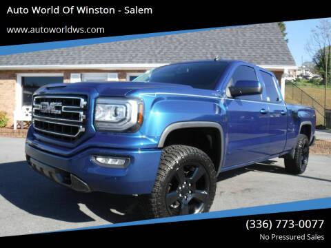 2016 GMC Sierra 1500 for sale at Auto World Of Winston - Salem in Winston Salem NC