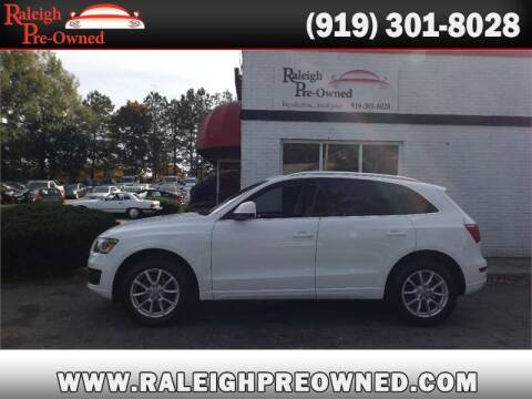2012 Audi Q5 for sale at Raleigh Pre-Owned in Raleigh NC