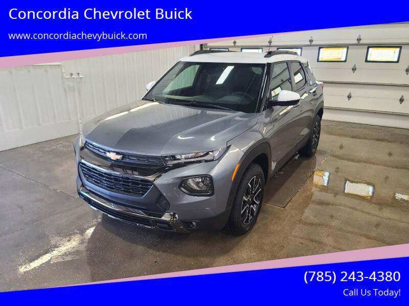 2022 Chevrolet TrailBlazer for sale at Concordia Chevrolet Buick in Concordia KS