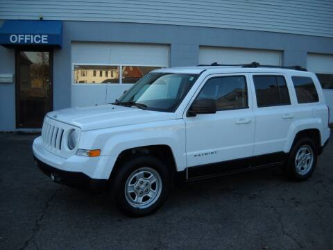 2014 Jeep Patriot for sale at Best Wheels Imports in Johnston RI