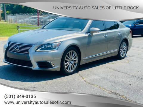 2016 Lexus LS 460 for sale at University Auto Sales of Little Rock in Little Rock AR