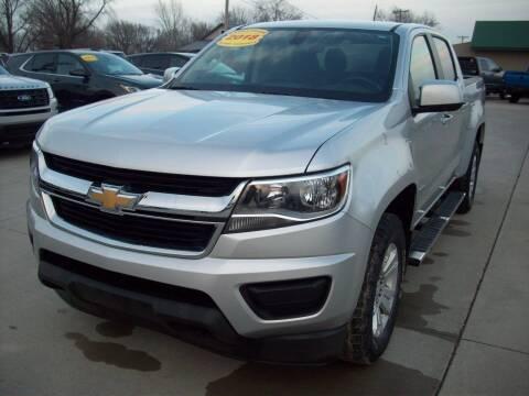 2018 Chevrolet Colorado for sale at Nemaha Valley Motors in Seneca KS