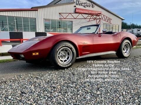 1974 Chevrolet Corvette for sale at Drager's International Classic Sales in Burlington WA