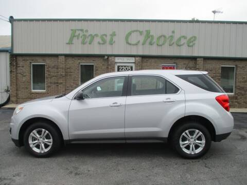 2015 Chevrolet Equinox for sale at First Choice Auto in Greenville SC
