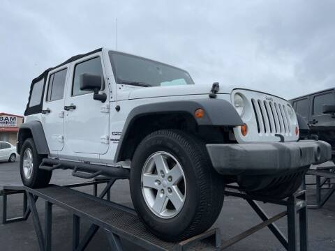2013 Jeep Wrangler Unlimited for sale at Bam Auto Sales in Azle TX