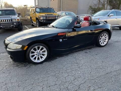 2006 BMW Z4 for sale at Quality Autos in Marietta GA