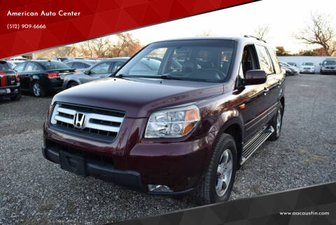 2008 Honda Pilot for sale at American Auto Center in Austin TX