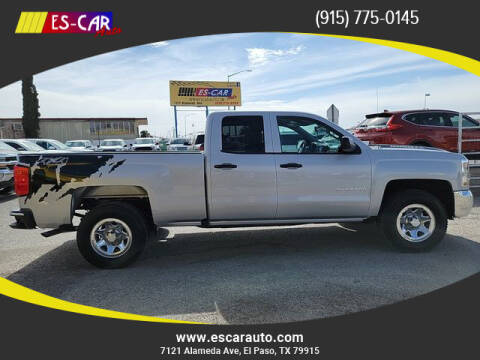 2016 Chevrolet Silverado 1500 for sale at Escar Auto in El Paso TX