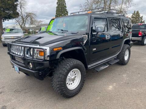 2003 HUMMER H2 for sale at Pacific Auto LLC in Woodburn OR