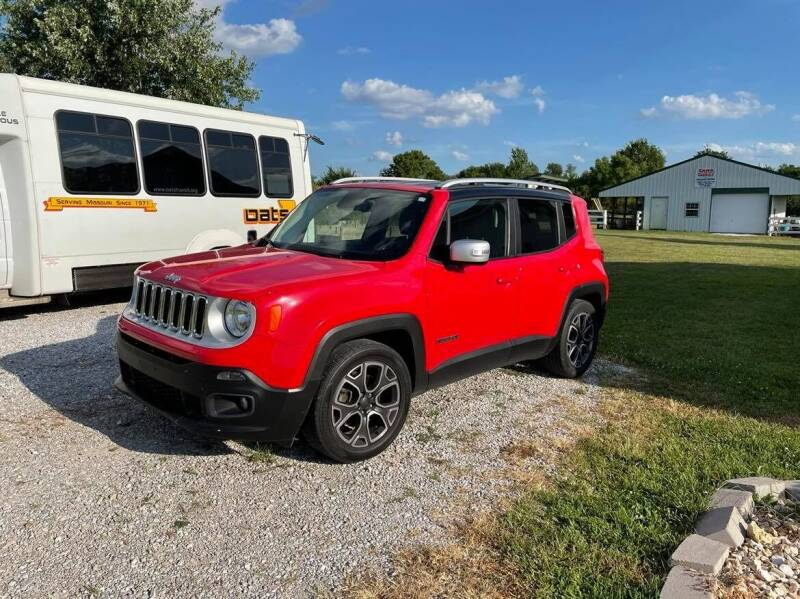 2016 Jeep Renegade for sale at Cars Across America in Republic MO