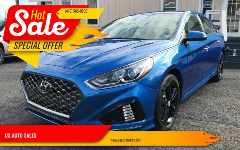 2018 Hyundai Sonata for sale at US AUTO SALES in Baltimore MD