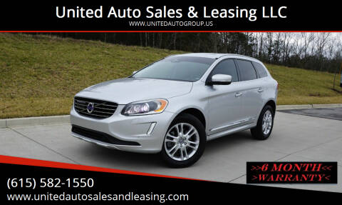 2015 Volvo XC60 for sale at United Auto Sales & Leasing LLC in La Vergne TN