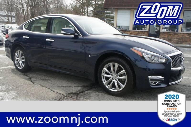 2018 Infiniti Q70 for sale at Zoom Auto Group in Parsippany NJ