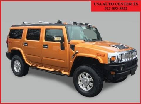 2006 HUMMER H2 for sale at USA AUTO CENTER in Austin TX