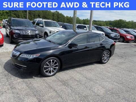 2015 Acura TLX for sale at Billy Ballew Motorsports in Dawsonville GA