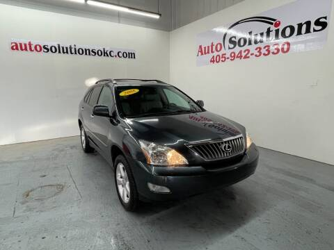 2008 Lexus RX 350 for sale at Auto Solutions in Warr Acres OK