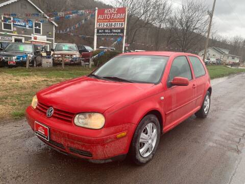 2005 Volkswagen Golf for sale at Korz Auto Farm in Kansas City KS
