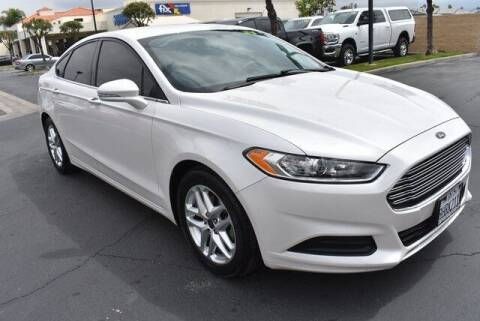 2016 Ford Fusion for sale at DIAMOND VALLEY HONDA in Hemet CA