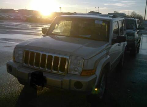 2008 Jeep Commander for sale at TruckMax in N. Laurel MD