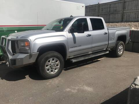 2015 GMC Sierra 3500HD for sale at Canuck Truck in Magrath AB