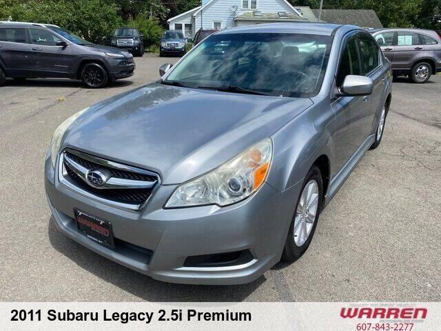 2011 Subaru Legacy for sale at Warren Auto Sales in Oxford NY