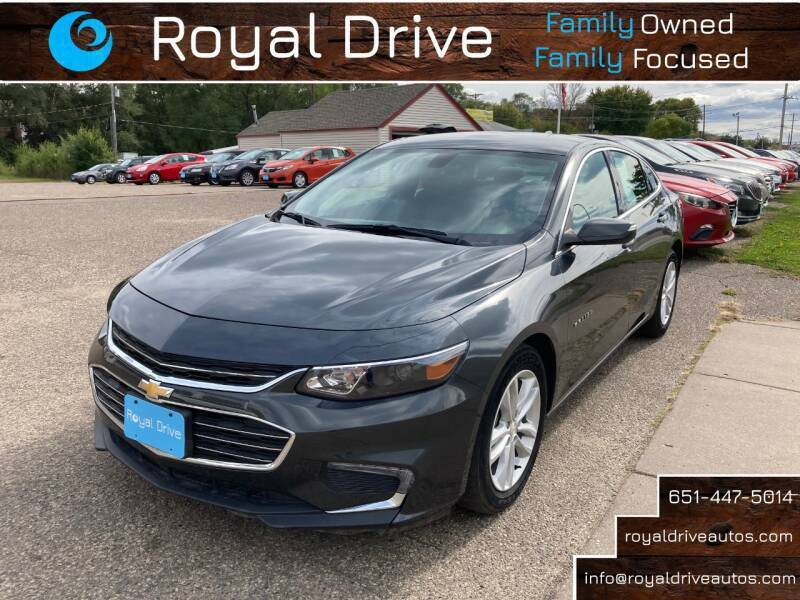 2018 Chevrolet Malibu for sale at Royal Drive in Newport MN