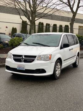 2016 Dodge Grand Caravan for sale at Washington Auto Sales in Tacoma WA