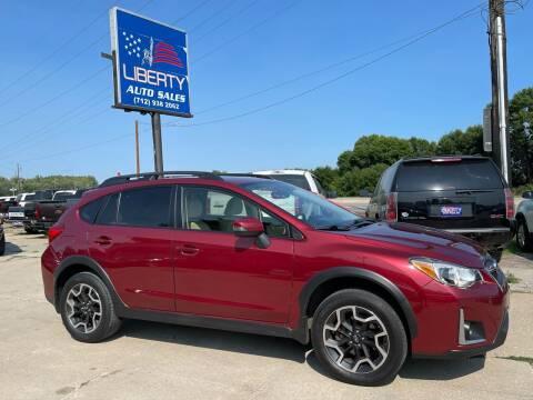 2016 Subaru Crosstrek for sale at Liberty Auto Sales in Merrill IA