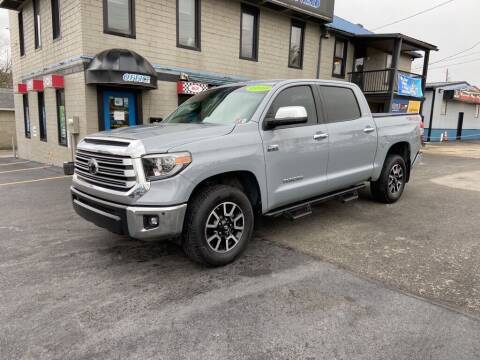 2018 Toyota Tundra for sale at Sisson Pre-Owned in Uniontown PA