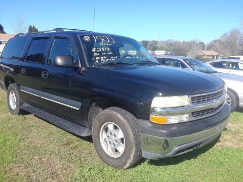 2003 Chevrolet Suburban for sale at CARZ4YOU.com in Robertsdale AL