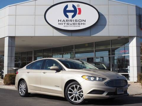 2017 Ford Fusion Hybrid for sale at Harrison Imports in Sandy UT