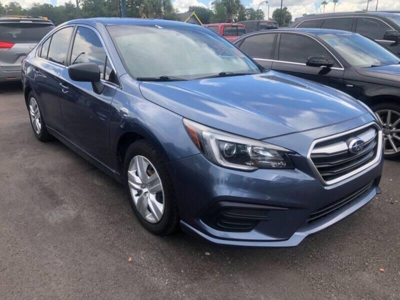 2018 Subaru Legacy for sale at Empire Automotive Group Inc. in Orlando FL