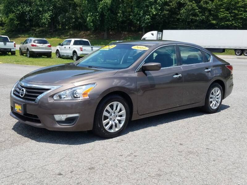 2014 Nissan Altima for sale at JR's Auto Sales Inc. in Shelby NC