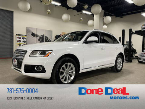 2017 Audi Q5 for sale at DONE DEAL MOTORS in Canton MA