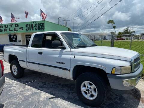 1999 Dodge Ram Pickup 1500 for sale at Jack's Auto Sales in Port Richey FL
