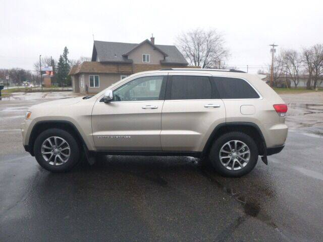 2014 Jeep Grand Cherokee for sale at JIM WOESTE AUTO SALES & SVC in Long Prairie MN