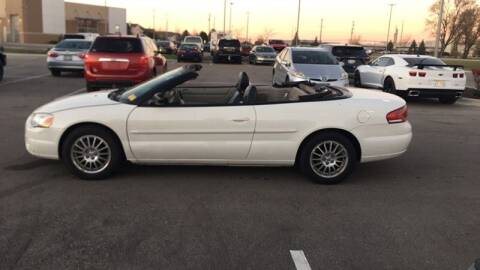 2006 Chrysler Sebring for sale at WEINLE MOTORSPORTS in Cleves OH