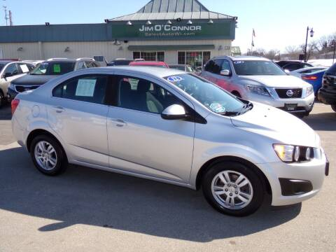 2012 Chevrolet Sonic for sale at Jim O'Connor Select Auto in Oconomowoc WI