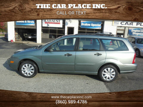 2006 Ford Focus for sale at THE CAR PLACE INC. in Somersville CT