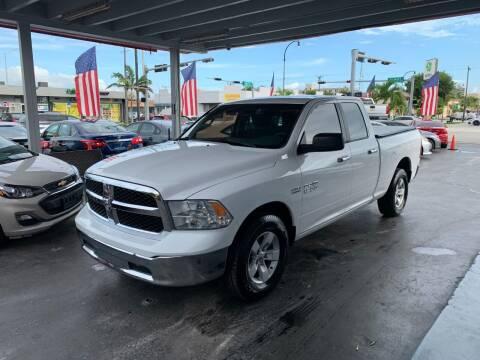 2016 RAM Ram Pickup 1500 for sale at American Auto Sales in Hialeah FL