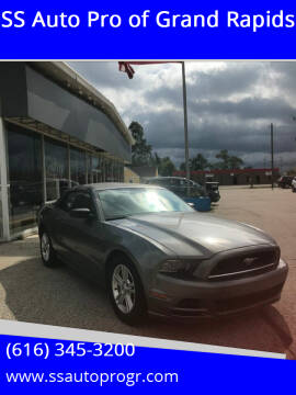 2013 Ford Mustang for sale at SS Auto Pro of Grand Rapids in Kentwood MI