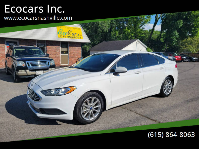 2017 Ford Fusion for sale at Ecocars Inc. in Nashville TN
