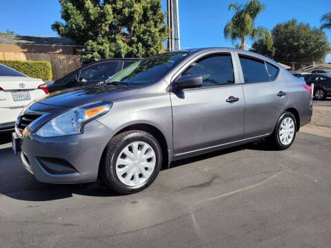 2017 Nissan Versa for sale at Geiman Motors in Escondido CA