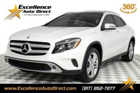 2016 Mercedes-Benz GLA for sale at Excellence Auto Direct in Euless TX