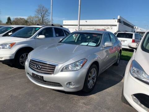 2013 Infiniti M37 for sale at BORGMAN OF HOLLAND LLC in Holland MI