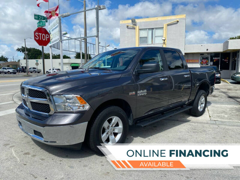 2018 RAM Ram Pickup 1500 for sale at Global Auto Sales USA in Miami FL
