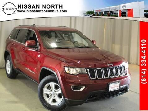2017 Jeep Grand Cherokee for sale at Auto Center of Columbus in Columbus OH